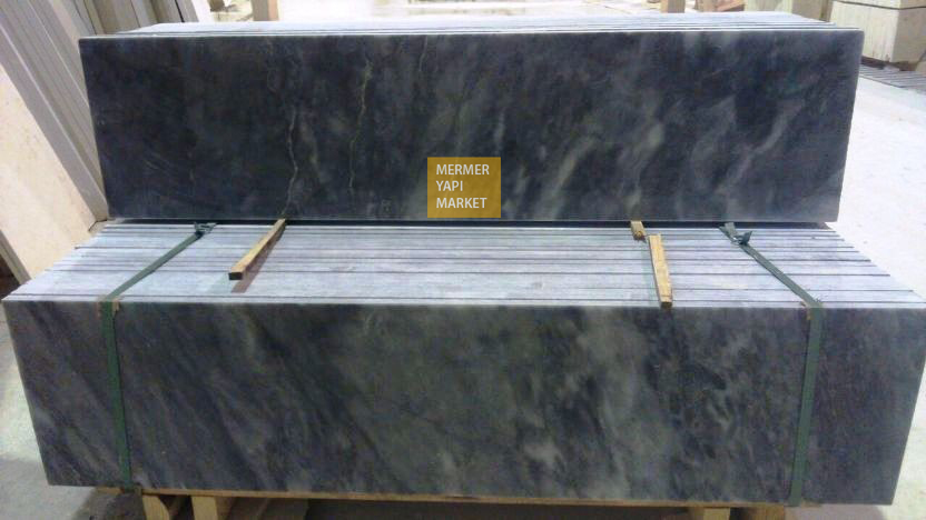 Tiger Skin Marble Handrail - 2 cm Thickness
