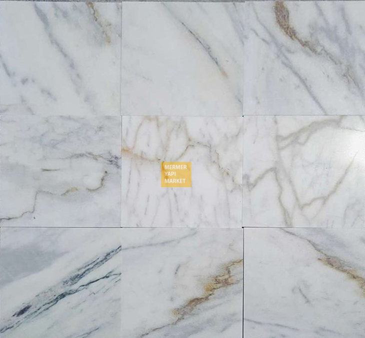 Muğla White Second Class Furnishing Marble