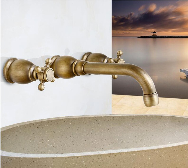 Tumbled Wall Mounted Faucet Battery