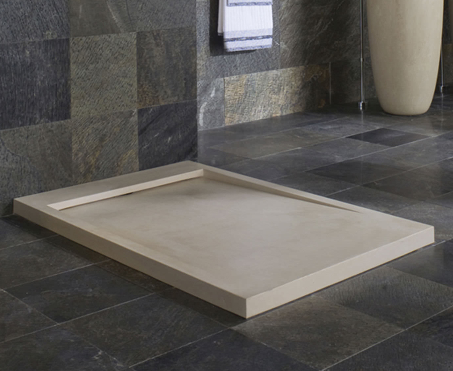 Beige Marble Shower Tray