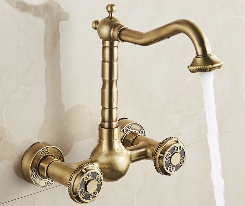 Antique Tumbled Modern Faucet