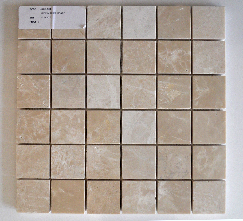 Light Beige Marble Mosaic