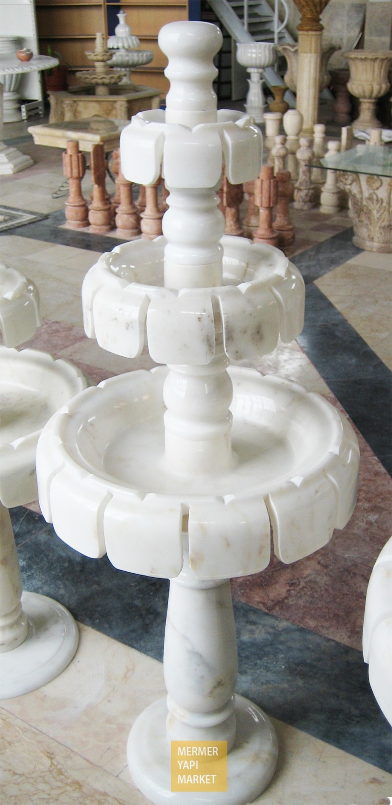 Marble Leaf Fountain