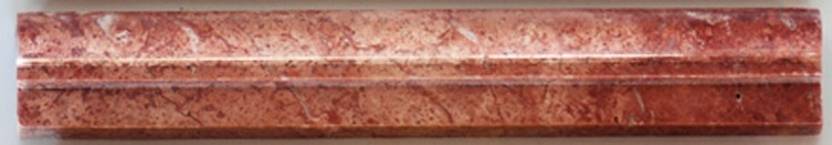Red Travertine Profiles - OGEE 1