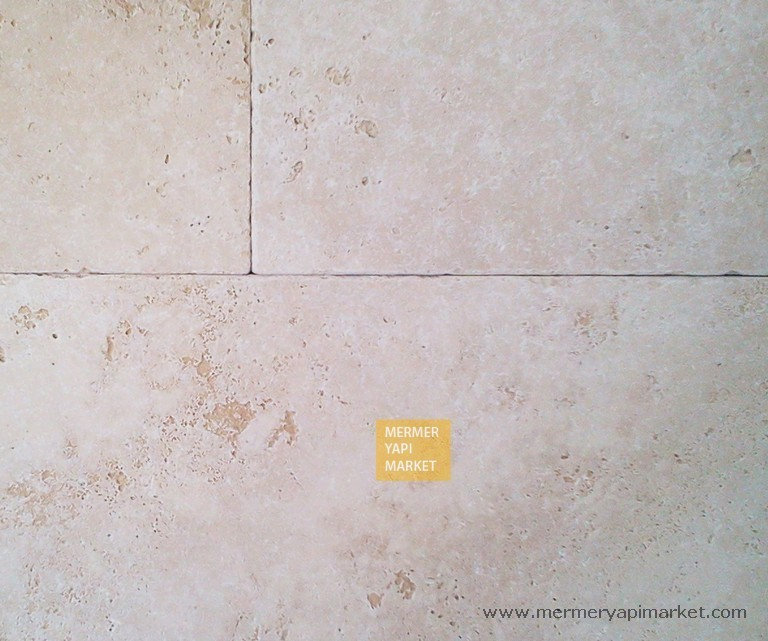 Travertine Tumbled French Pattern Set