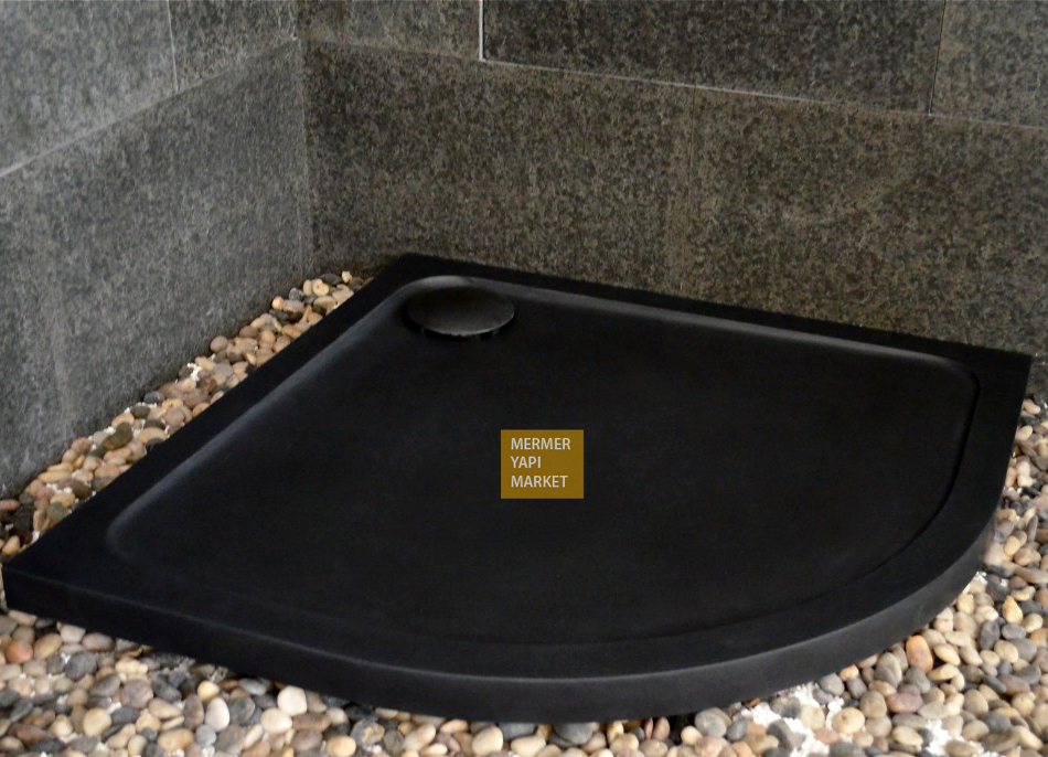 Basalt Shower Tray - Oval
