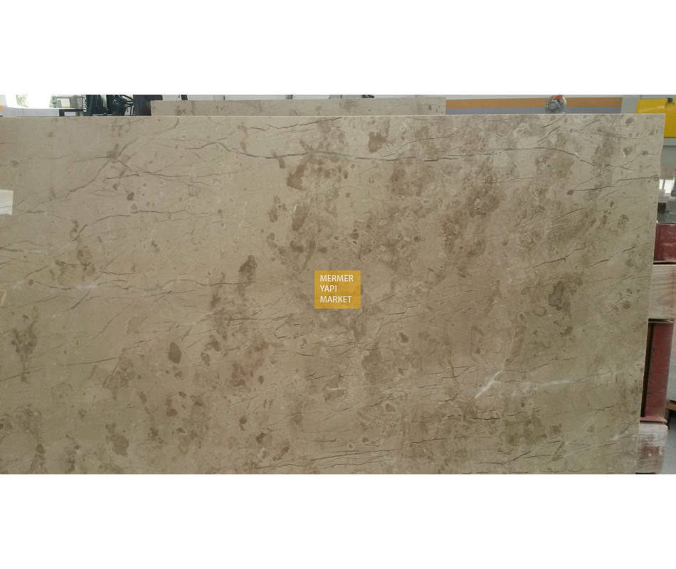 Bursa Dark Beige Marble Slabs