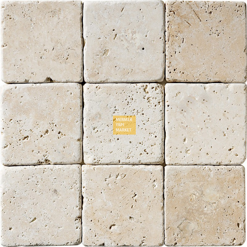 Tumbled Travertine 10x10
