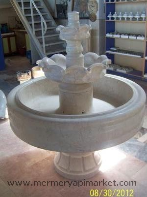 Pool Type Marble Fountain