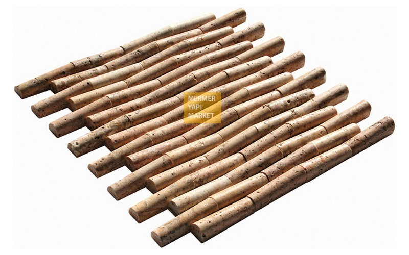 Scabas Travertine Bamboo