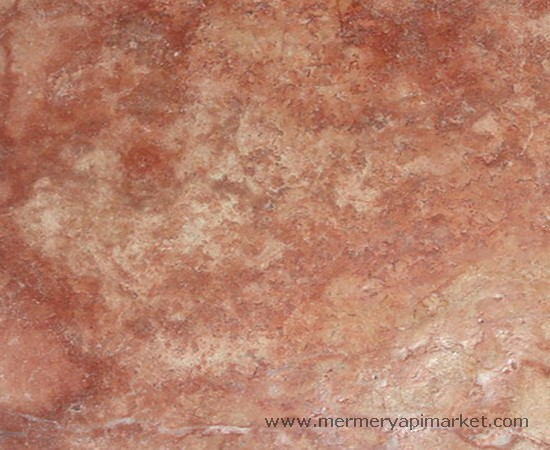 Red Travertine Honed - Unfilled
