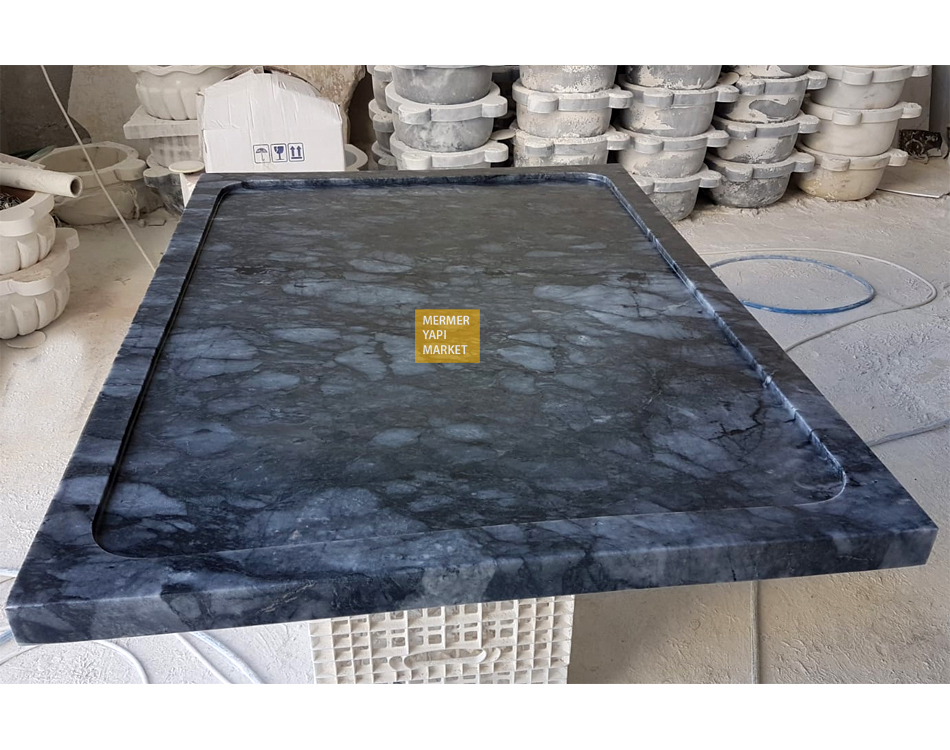 Blue Stone Shower Tray