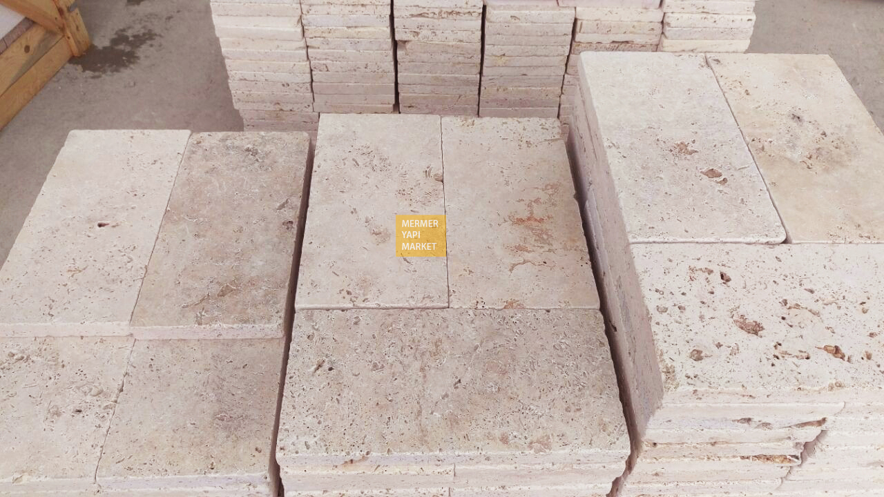 Tumbled Travertine 3cm Thickness