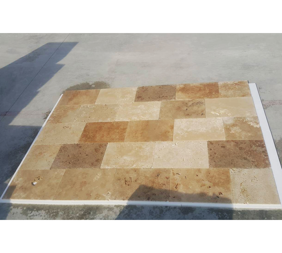 Tumbled Mix Travertine