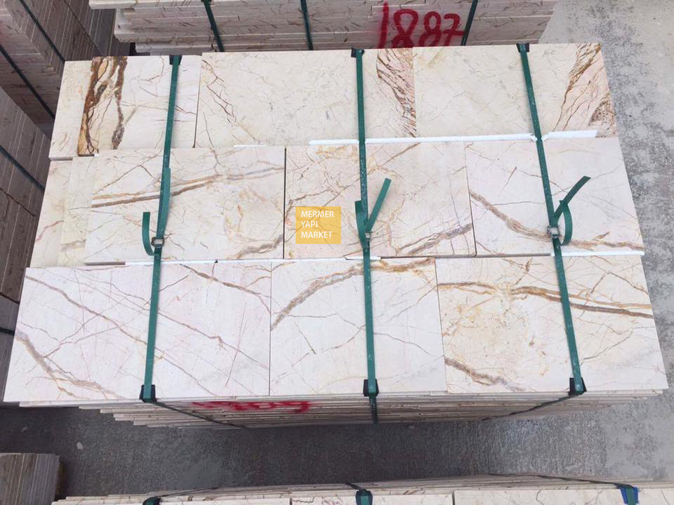Sofita Beige Marble Slab - Polished