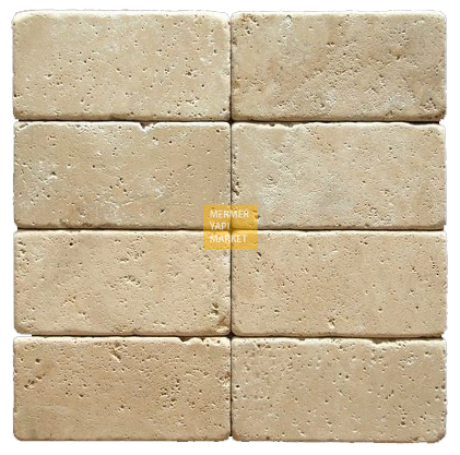 Tumbled Travertine 7,5x15