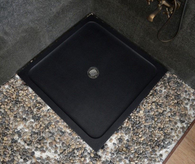 Black Basalt Shower Tray
