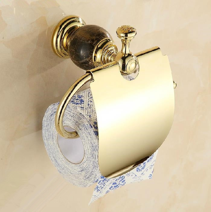 Gold Plated Toilet Paper