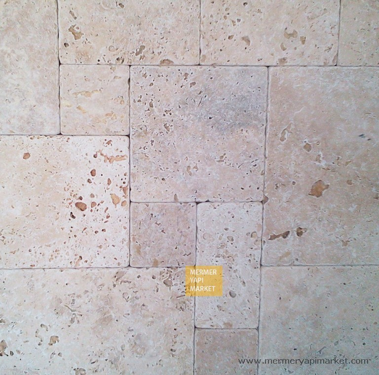 Travertine Tumbled Mini Set