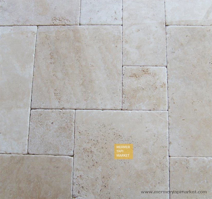 Tumbled Travertine Jumbo Set