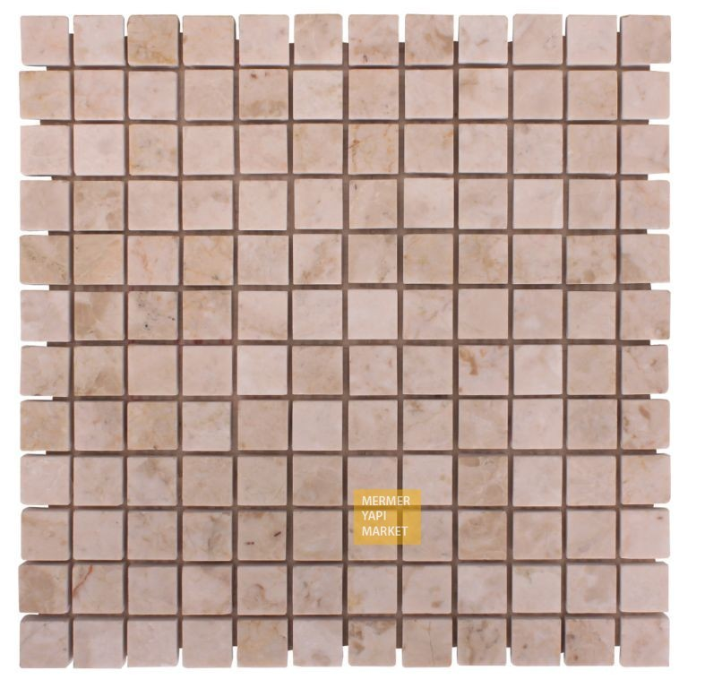 Travertine Polished Mosaic